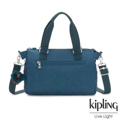 Kipling 遼闊海峽藍手提側背公事包-PILAR