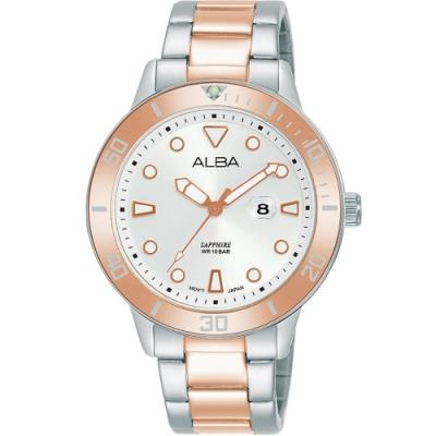 ALBA ACTIVE 系列運動時尚手錶(AH7V03X1)36mm/VJ22-X318KS