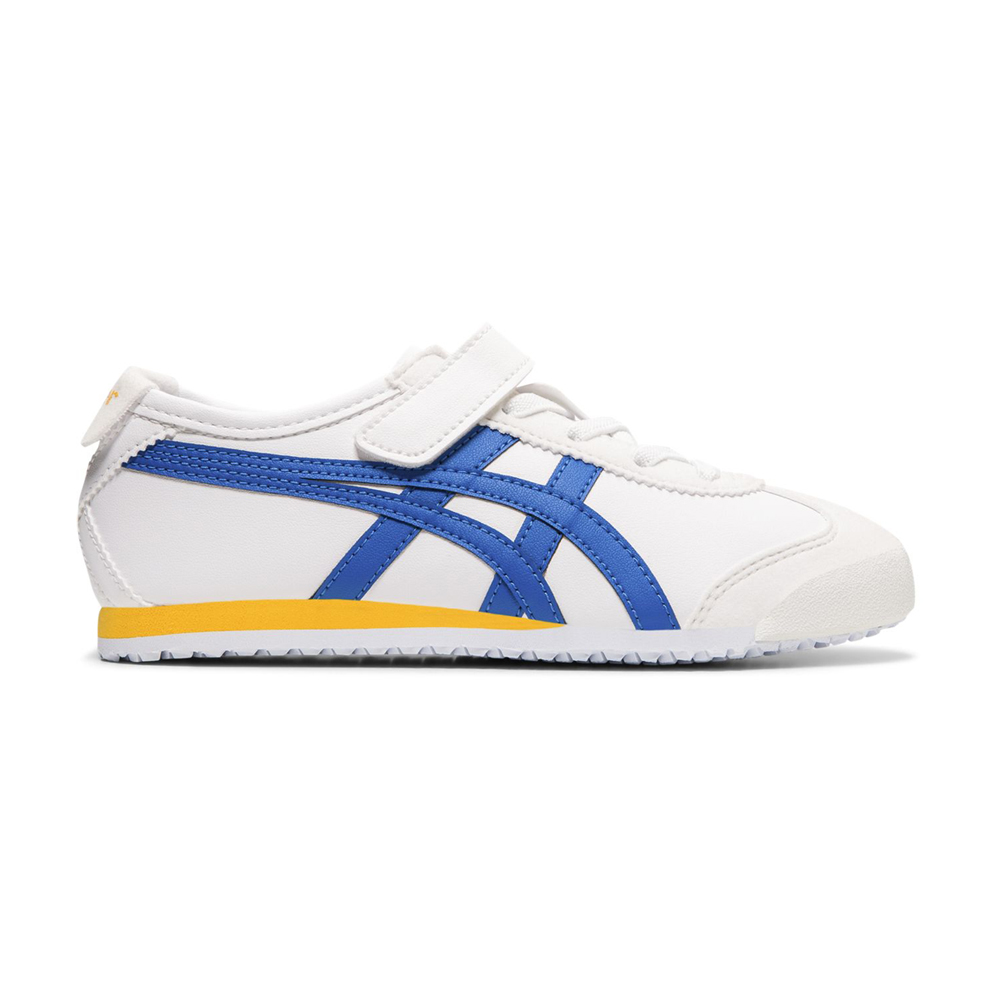 Onitsuka Tiger鬼塚虎-MEXICO 66 PS 中童鞋 (白底黃藍)-1184A033-102 product image 1