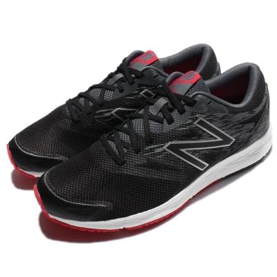New Balance 慢跑鞋 MFLSHLB1 運動 男鞋 黑 紅 白 舒適緩震 基本款 運動鞋