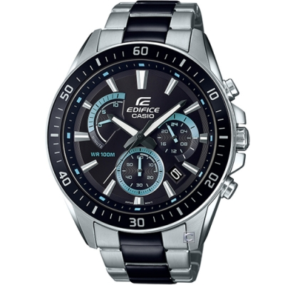CASIO EDIFICE 賽車運動競速腕錶(EFR-552SBK-1A)