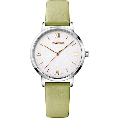 WENGER Urban Donnissima 輕時尚腕錶(01.1731.103)綠