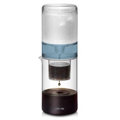Driver設計款冰滴咖啡壺600ml-藍色