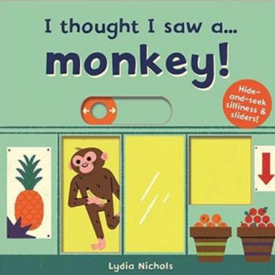 I Thought I Saw A...Monkey! 猴子玩捉迷藏硬頁操作書