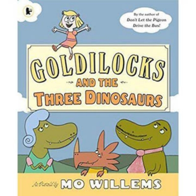 Goldilocks And The Three Dinosaurs 平裝繪本