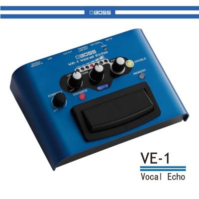 BOSS VE-1 專業錄音室等級人聲效果器/贈導線/公司貨保固