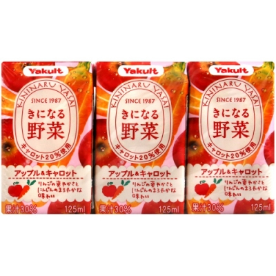Yakult Yakult野菜汁-蘋果&胡蘿蔔(375g)