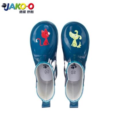 JAKO-O 德國野酷-Lili&Rex 雨靴-深海藍 (兒童雨鞋)