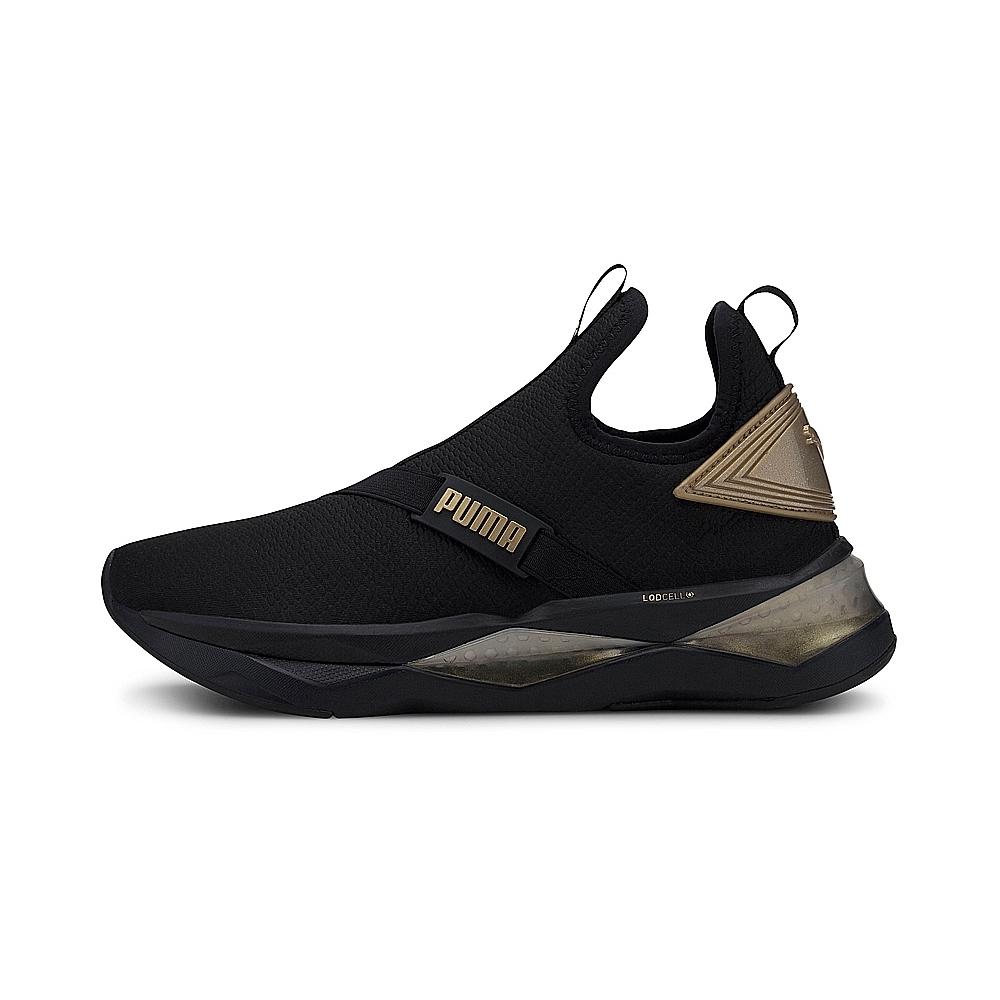 PUMA-LQDCELL Shatter Mid 女性訓練運動鞋-黑色