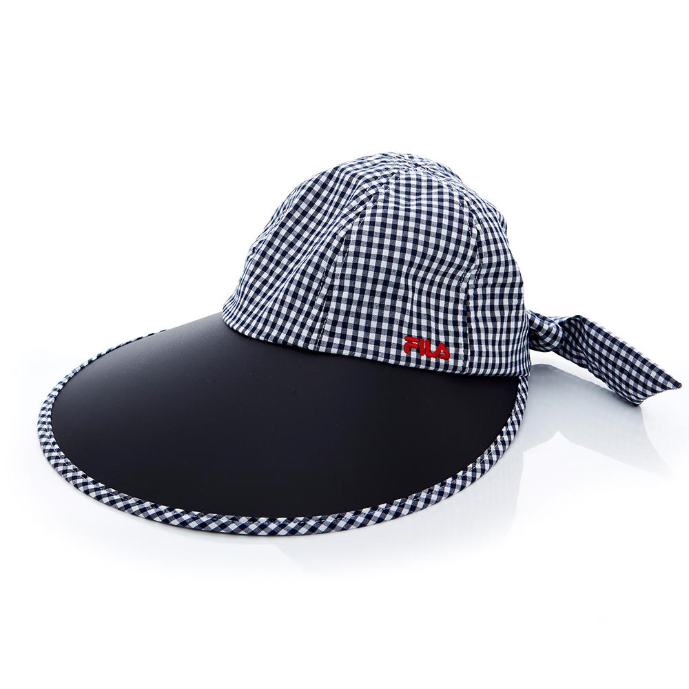 FILA 時尚遮陽帽-丈青 HTT-1009-NV
