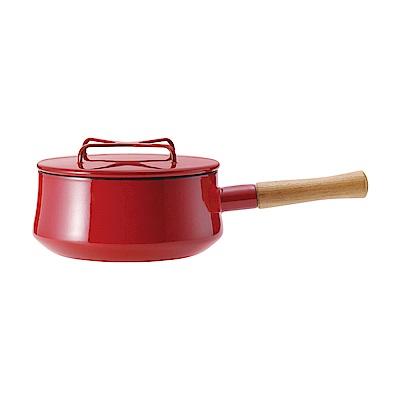 DANSK 琺瑯單耳燉煮鍋(紅色)