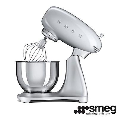 義大利 SMEG  抬頭式攪拌機  - 太空銀 SMF01SVTW