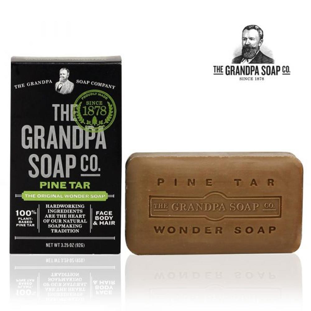 Grandpa 神奇爺爺 神奇妙松焦油護膚皂 3.25 oz
