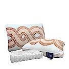 Hilton希爾頓 六星級經典系列 5D透氣雕花獨立筒枕/兩色任選