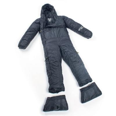 Selk Bag 神客睡袋人 5G Original 化纖保暖睡袋 深邃黑 7°C