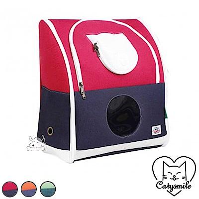 Catysmile 基本款 寵物雙肩後背包 共3色