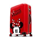 Disney 米奇奇幻之旅 28吋PC鏡面拉鍊行李箱-紅色