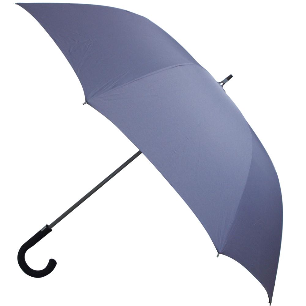 WEPON 玻纖防風高爾夫球自動傘一把(灰色)