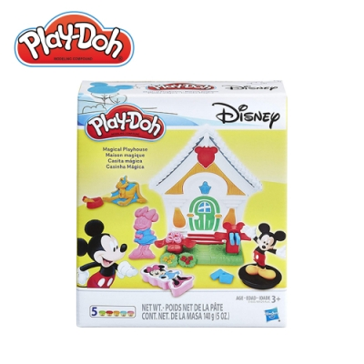 Play-Doh 培樂多-米奇的家遊戲組 無毒黏土 創意DIY