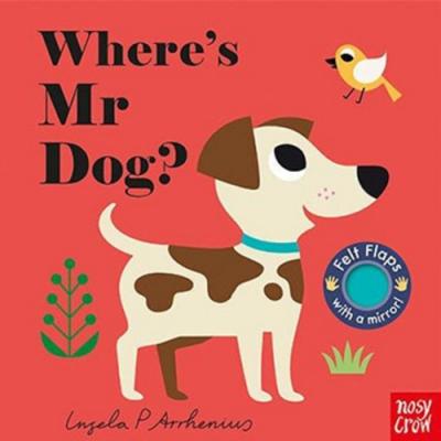 Where s Mr Dog? 小狗在哪裡?不織布翻翻書