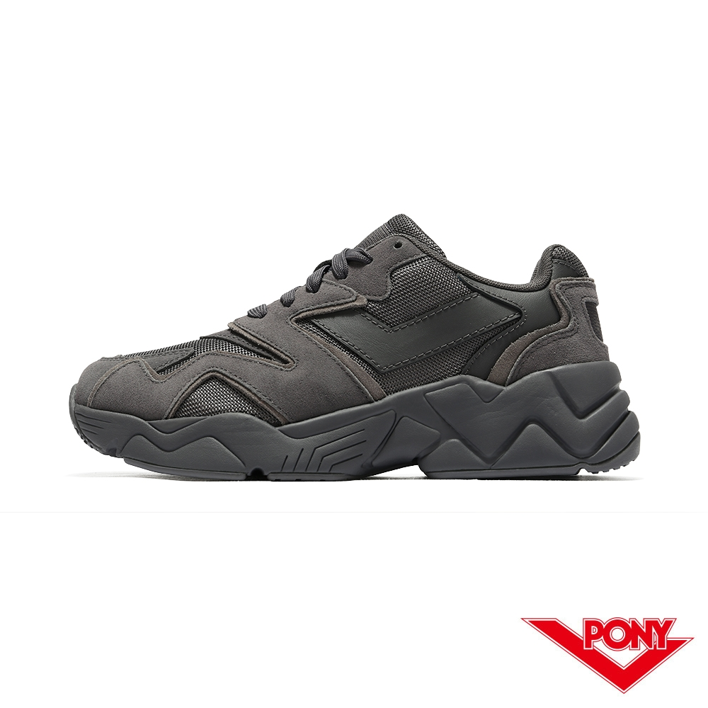 【PONY】MODERN 2 電光鞋 夢幻系慢跑鞋 女鞋-午夜騎士灰