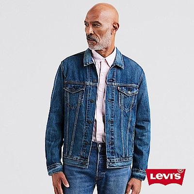 Levis 男款 牛仔外套 Type 3經典版型 Lyocell天然環保纖維 深藍