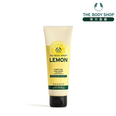 The Body Shop 檸檬清新淨化潔面膠-125ML