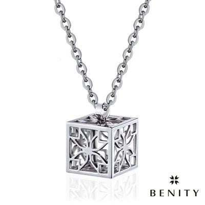 BENITY 記憶寶盒 白鋼色款 抗敏白鋼/西德鋼 女鍊