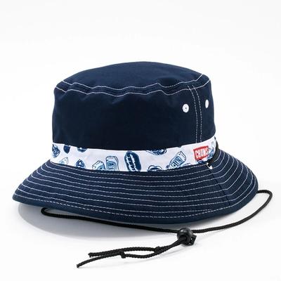 CHUMS Reversible Print Hat 男女 雙面休閒帽 熱狗-CH051207Z194