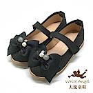 天使童鞋 優雅沁蝶公主鞋(中-大童)J937-黑