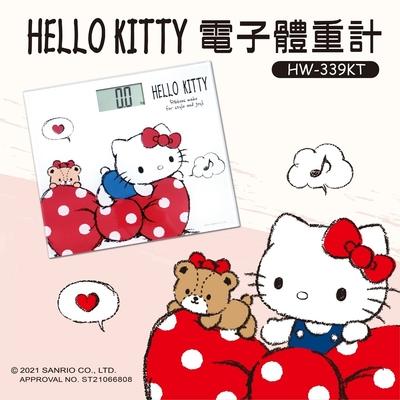 【HELLO KITTY】電子體重計HW-359KT(強化玻璃 自動開關機)