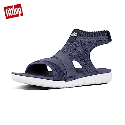 FitFlop UBERKNIT針織涼鞋印地安藍