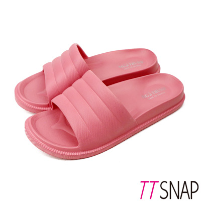 TTSNAP拖鞋-MIT輕量室內舒適居家拖鞋 粉