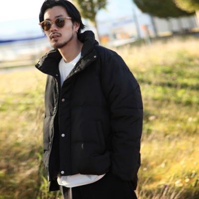 羽絨外套秋冬厚外套保暖夾克(6色) -ZIP日本男裝