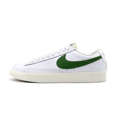 Nike BLAZER LOW LEATHER 男 休閒鞋 白綠-CI6377108