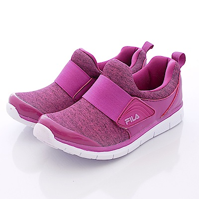 FILA頂級童鞋款 超輕量運動鞋款 EI16Q-999紫(中大童段)0