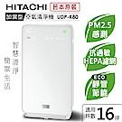日立HITACHI 日本原裝輕巧型清淨機16坪內適用 UDP-K80