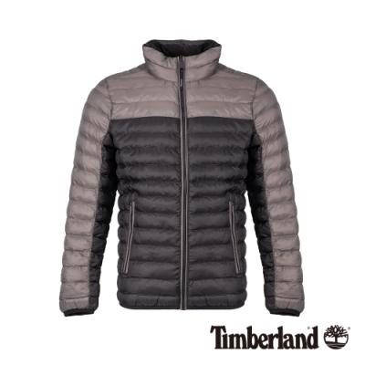 Timberland 男款石子黑色輕薄智能棉外套|A1ZHK