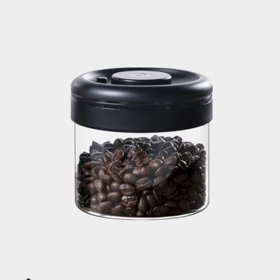 Timemore泰摩真空保鮮玻璃密封罐-0.4L(黑)