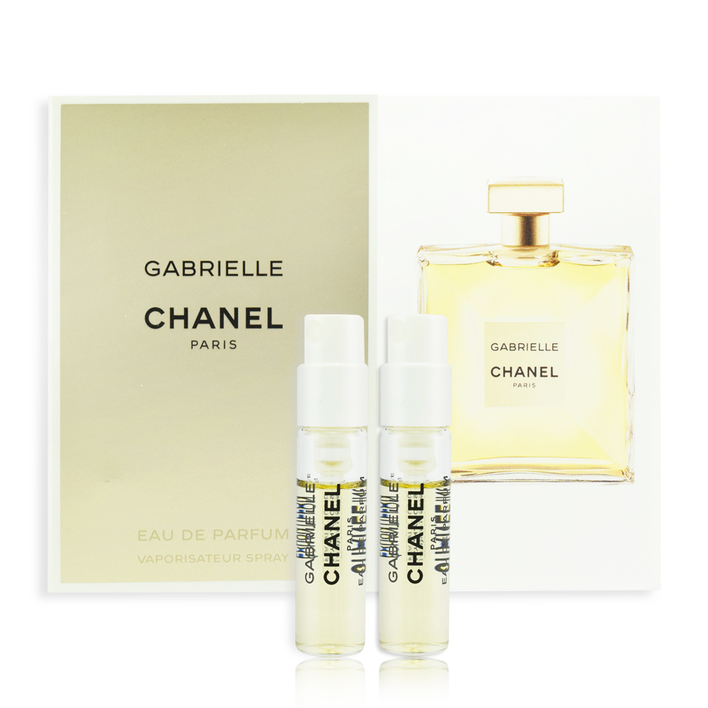 (即期品)CHANEL 香奈兒 GABRIELLE 嘉柏麗香水 1.5ml*2入