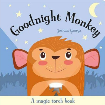 A Magic Torch Book:Goodnight Monkey 猴子說晚安趣味膠片書