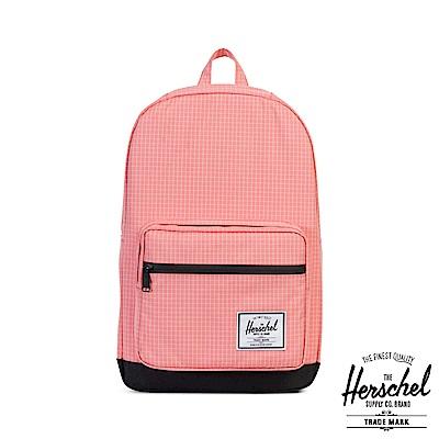 Herschel Pop Quiz 後背包-粉色格紋
