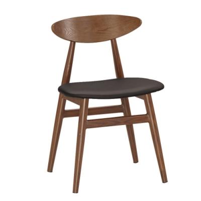 MUNA 華蓮丁餐椅(皮)(五金腳)(4入) 46.5X48X75.5cm