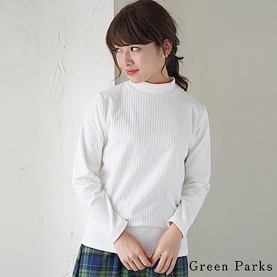 Green Parks 氣質羅紋高領針織上衣