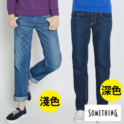 [時時樂限定] SOMETHING 女款NATURAL涼感小垮褲(兩色)