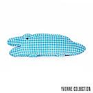 Yvonne Collection鱷魚造型長抱枕-藍格