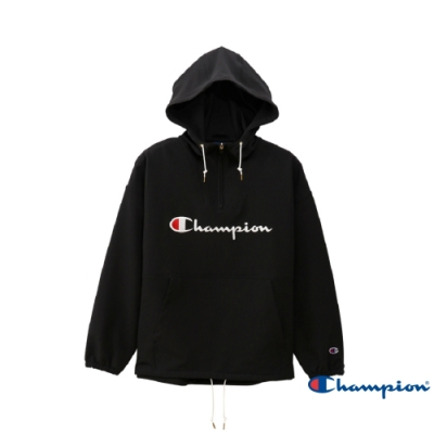 Champion Women s Sports草寫Logo衝鋒衣(黑色)
