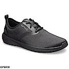 Crocs 卡駱馳 (男鞋) LiteRide男士繫帶鞋 205162-060