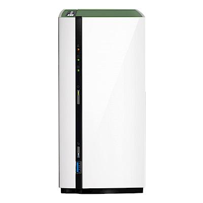 (無卡分期)【促銷組合】QNAP TS-228A網路儲存伺服器+Seagate 4TB*2