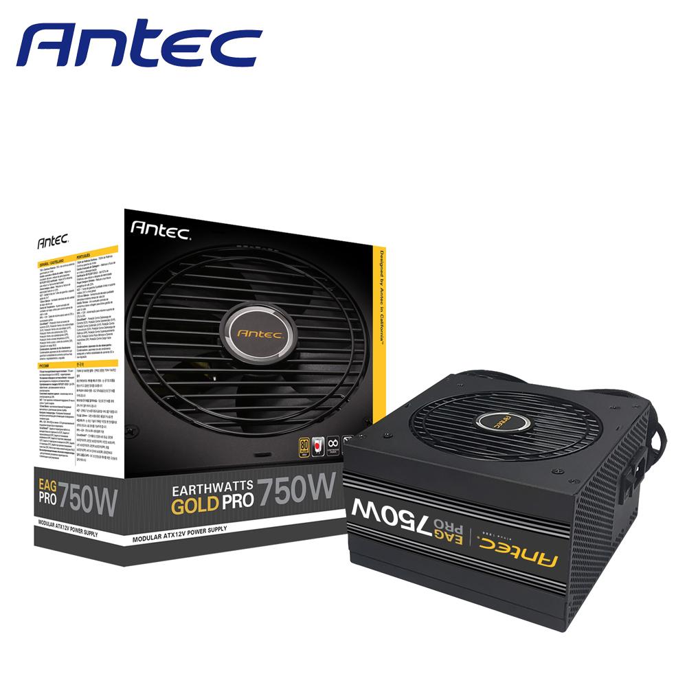 Antec 安鈦克 NE750G 750W 80 PLUS 金牌 半模組化 電源供應器